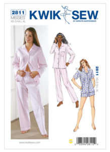 Kwik Sew pattern 2811 is a perfect pattern for beginners or for seasoned sewists who want to perfect their skills.